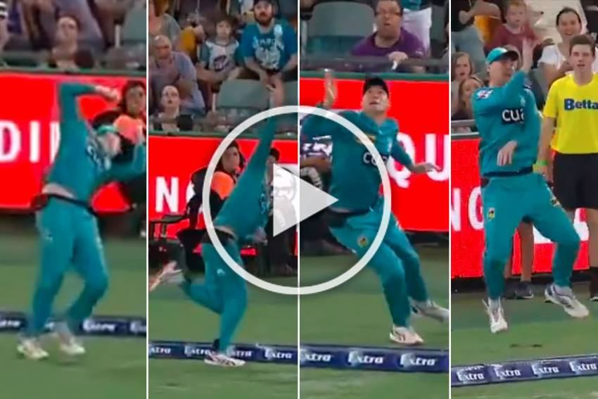 BBL: Matthew Renshaw's Controversial Moment Of Magic Reduces Cricket Law To Farce - WATCH