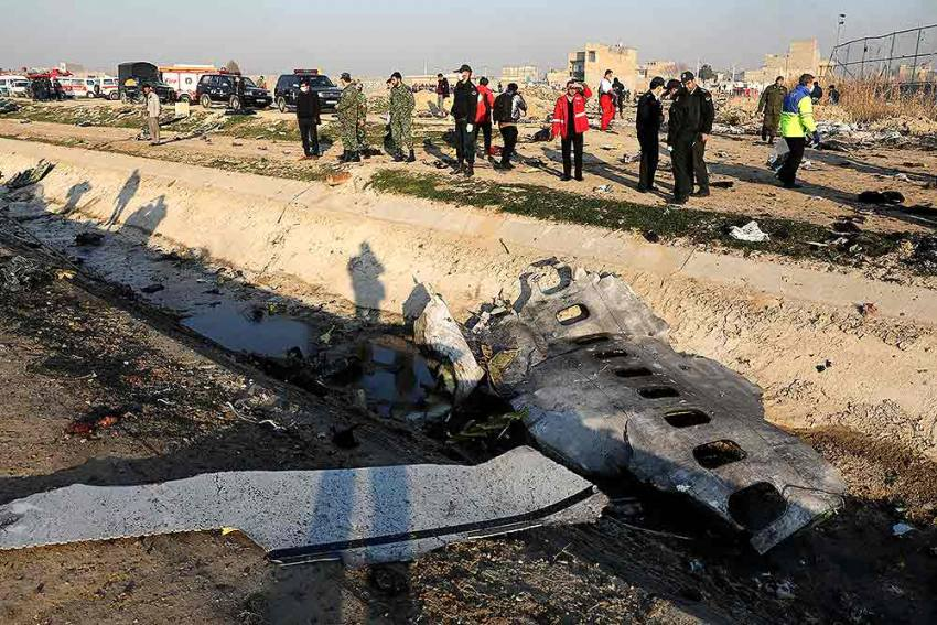 US To Join Investigation Into Ukrainian Passenger Plane's Crash In Iran