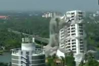 Two Illegal High-Rises Razed To Ground In Seconds In Kochi