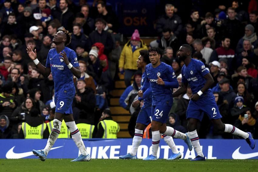 EPL | Chelsea 3-0 Burnley: Jorginho, Abraham And Hudson-Odoi Provide Home Comforts For Lampard
