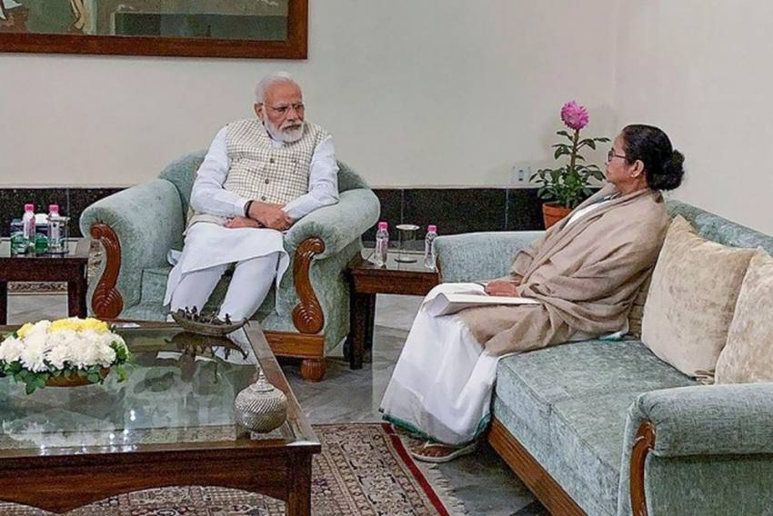 Amid Criticism Over Boycotting Opposition Meet, Mamata Banerjee Meets PM Modi, Asks Him To Withdraw CAA