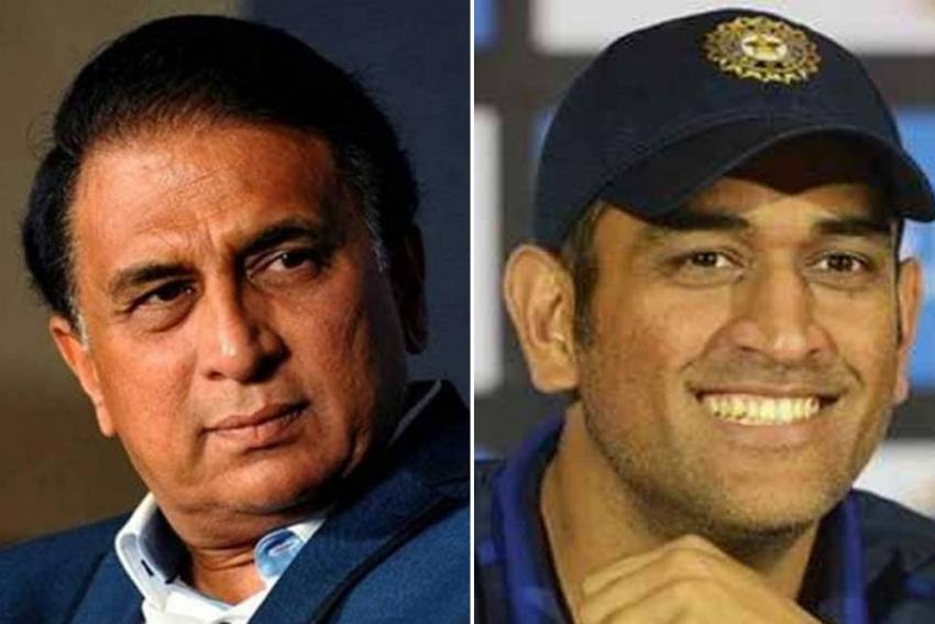 Sunil Gavaskar Makes Massive Statement On MS Dhoni's Prolong Absence From Indian Cricket Team