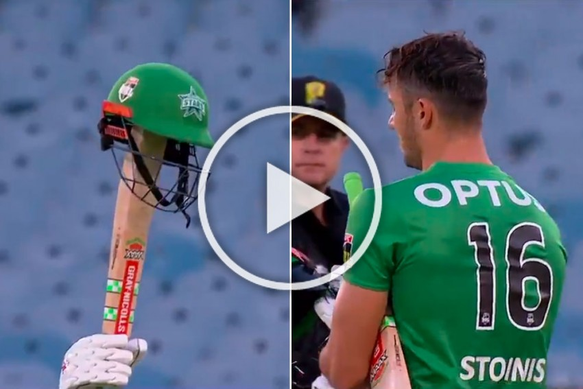 BBL: Marcus Stoinis' Sensational History-Making Knock Helps Melbourne Stars Silence Sydney Sixers - WATCH