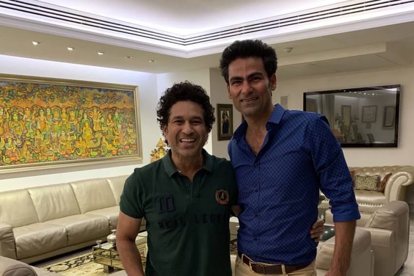 Mohammad Kaif's 'Sudama Moment' With Sachin Tendulkar Sets Internet On Fire - Read Fan Reactions