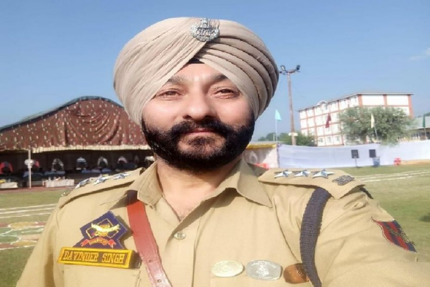 Arrested DSP Davinder Singh Not Awarded Gallantry Medal By MHA: J&K Police