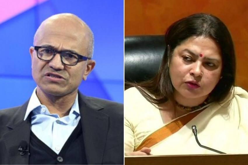 'Literate Need To Be Educated': BJP's Meenakshi Lekhi On Satya Nadella's CAA Remark