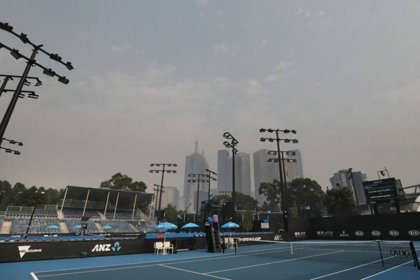 Australian Open Qualifying Delayed Due To 'Very Poor' Air Quality