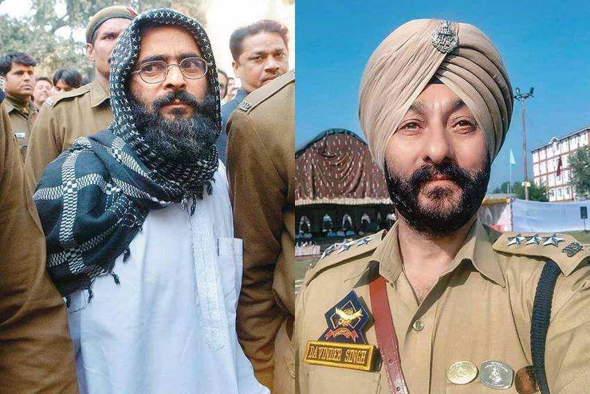 From Decorated Cop To Militants' Aide: Chequered Record Of Arrested J&K DSP Davinder Singh