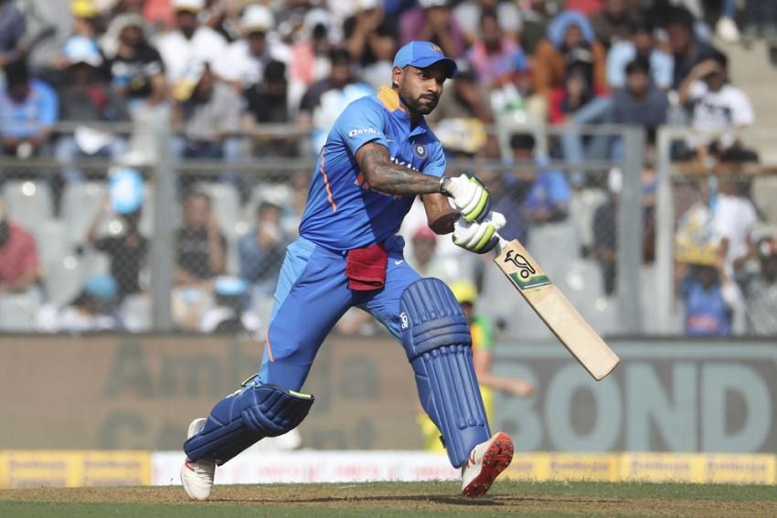 India Vs Australia, 1st ODI: Shikhar Dhawan Blames Middle Order Collapse For Massive Defeat