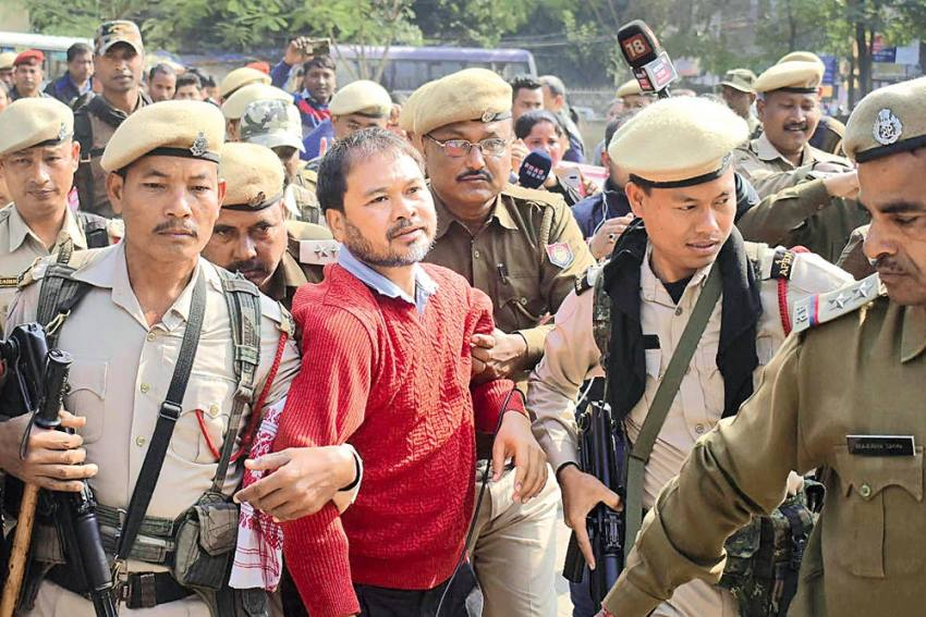 They Just Hate Dissent, How North East Police Flexes Its Muscle Or Is It The BJP?