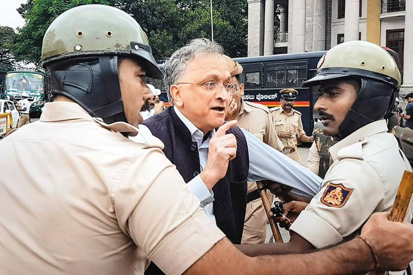 Karnataka Police: Emerging As Rogues In Uniform During CAA Protests