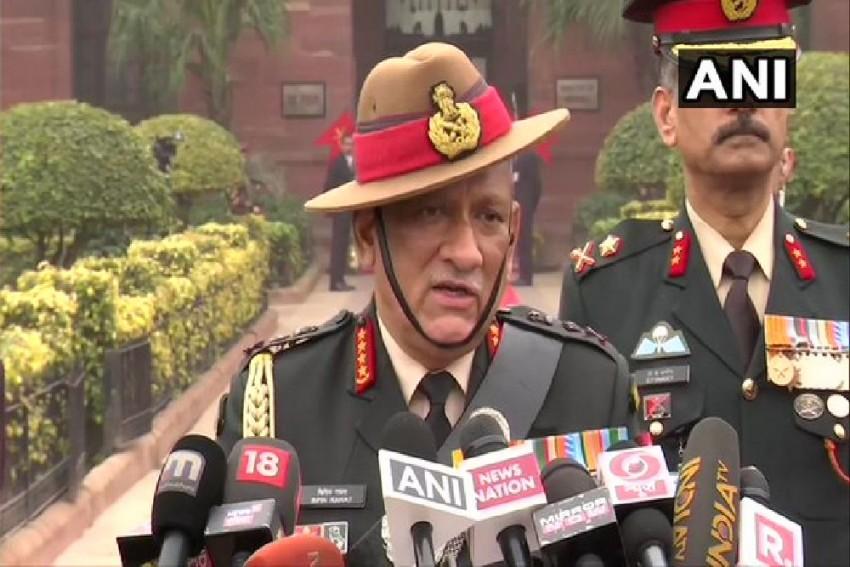 'Take Bull By Its Horns': CDS Gen Bipin Rawat On States Sponsoring Terrorism