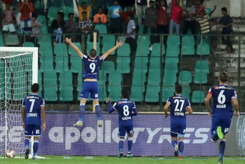 ISL: Chennaiyin FC Outclass NorthEast United, Move Up To Sixth