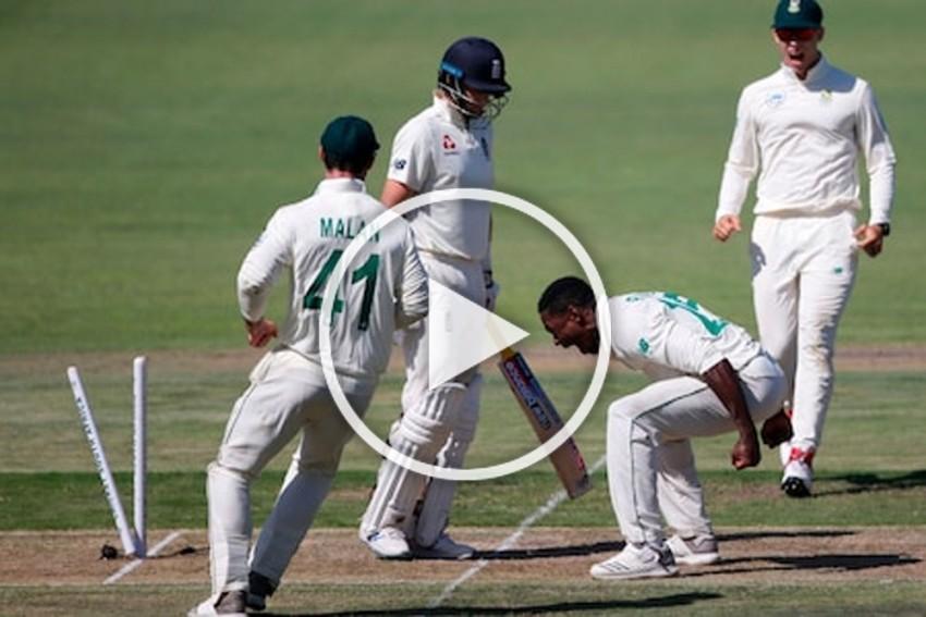 SA Vs ENG: Kagiso Rabada Banned For Celebration; Michael Vaughan Slams ICC - WATCH