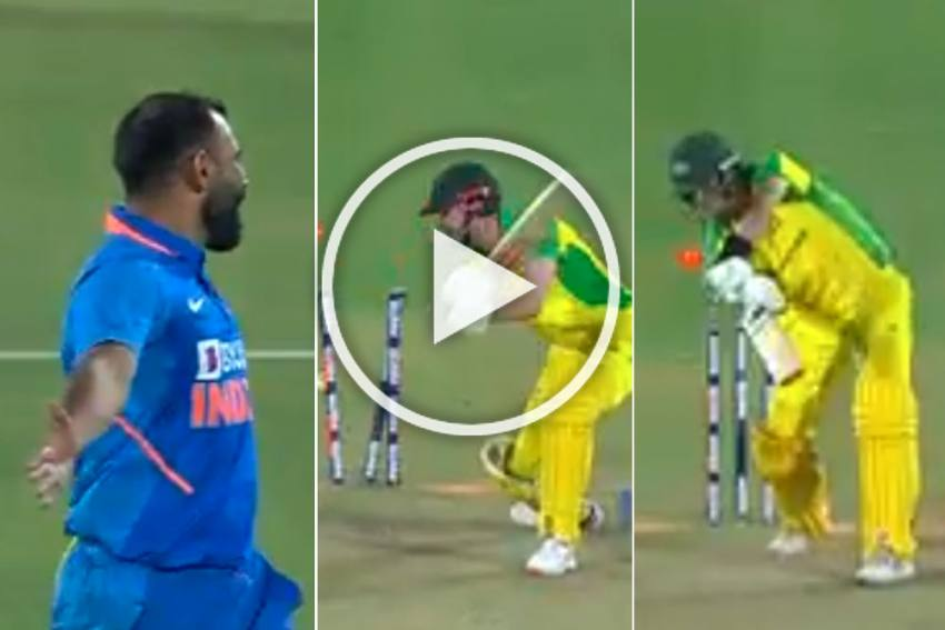 IND Vs AUS, 2nd ODI: Mohammed Shami Rocks Australia With Deadly Yorkers - WATCH