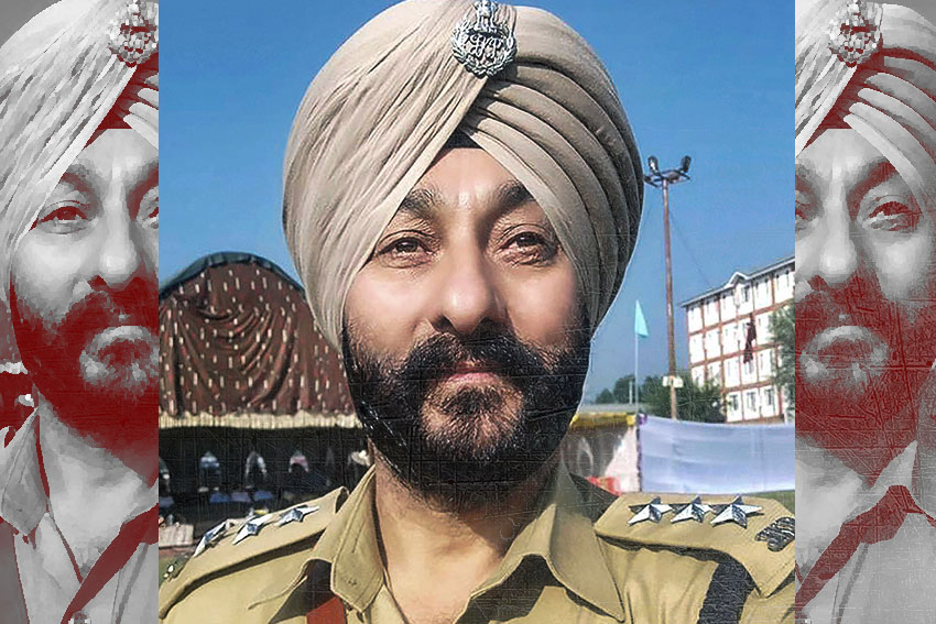 NIA Files Case Against J&K Cop Davinder Singh Caught With Militants