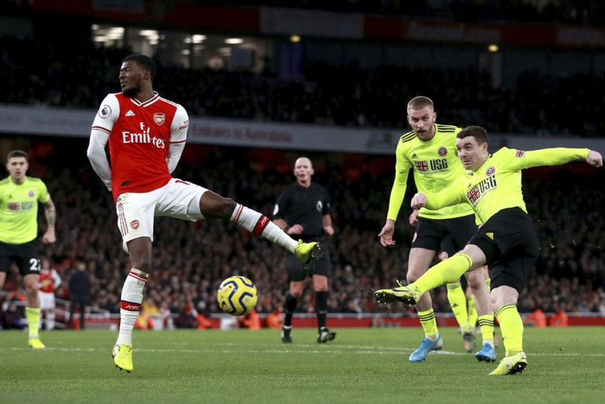 EPL | Arsenal 1-1 Sheffield United: John Fleck Equaliser Stuns Mikel Arteta's Men
