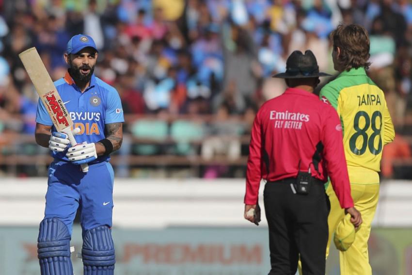 IND Vs AUS: India Captain Virat Kohli Is Australia Spinner Adam Zampa's Bunny