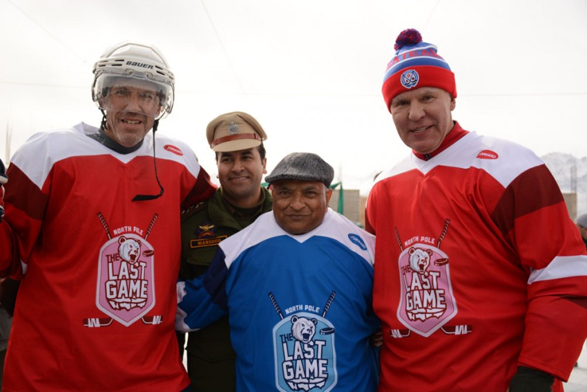 Ice Hockey For A Climatic Cause, 'The Last Game' Makes Its Himalayan Stopover