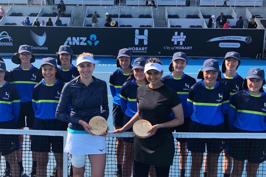 Hobart International: Sania Mirza Scripts Dream Return, Clinches Doubles Title