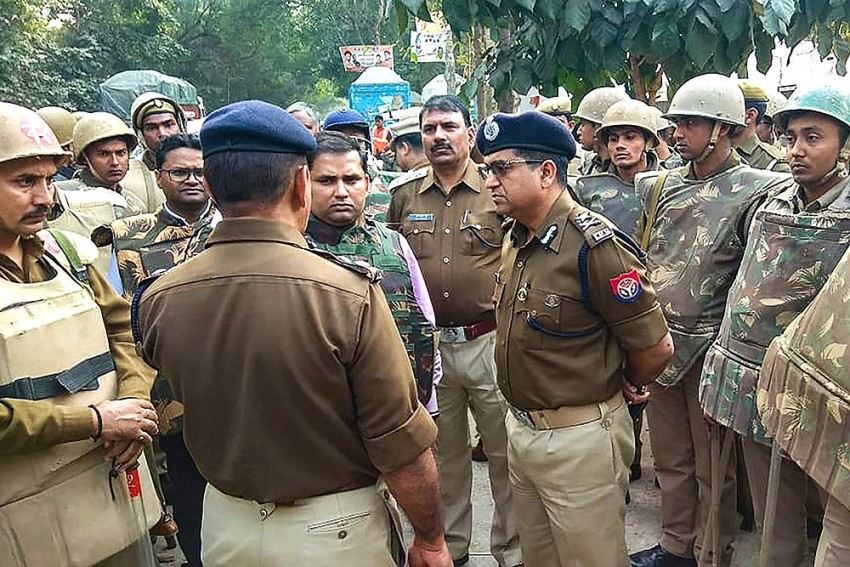 Naked, Burnt Body Of Woman Found Near Wildlife Sanctuary In UP