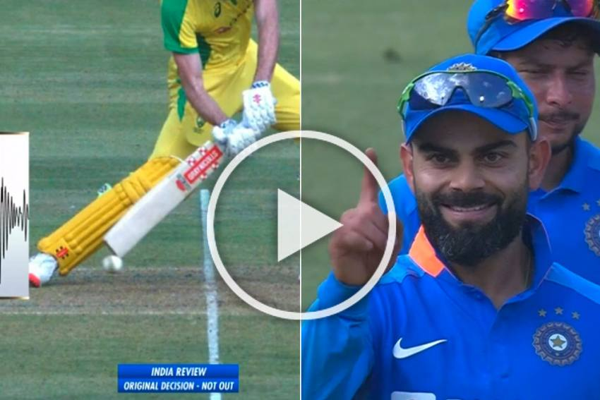 IND Vs AUS, 3rd ODI: India Captain Virat Kohli Makes Himself Proud With Right DRS Call To A Freak Dismissal - WATCH