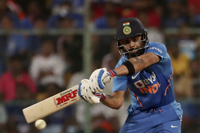 IND Vs AUS: Virat Kohli Becomes Fastest To Score 5000 ODI Runs As Skipper