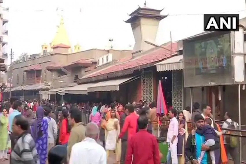 Saibaba Birthplace Row: Shops, Local Transport Shut In Shirdi Bandh, Temple Stays Open