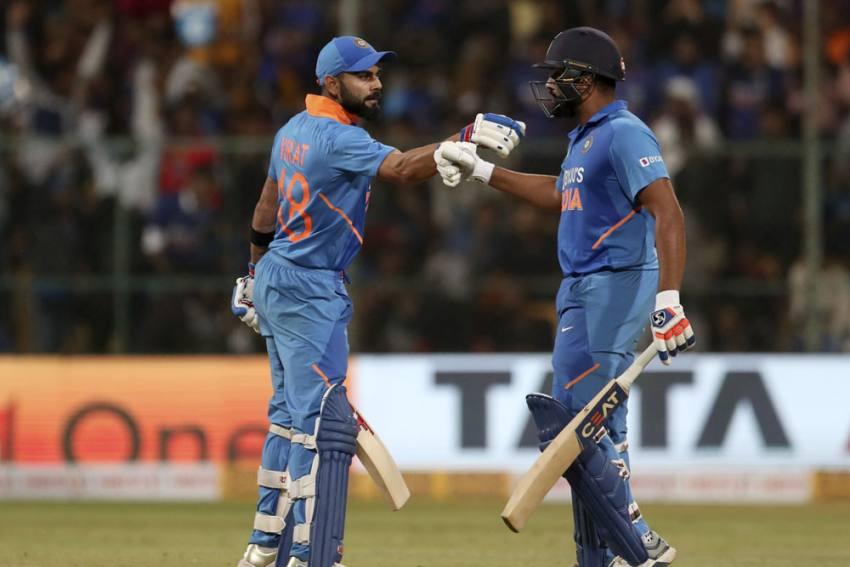 3rd ODI: Rohit Sharma, Virat Kohli Lead India To Series Win Vs Australia