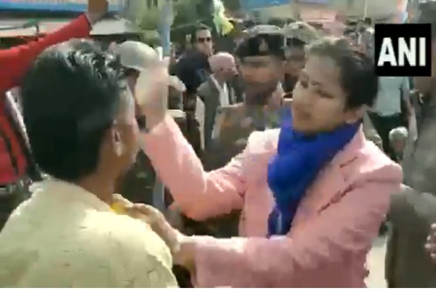 Watch: At Pro-CAA Rally In MP, Women Officials Get Assaulted After Thrashing Protesters