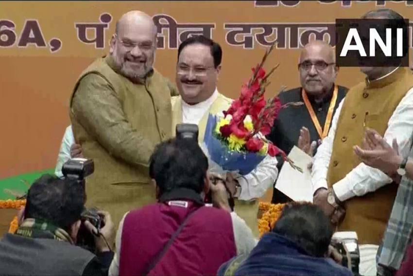 JP Nadda Elected Unopposed As New BJP President
