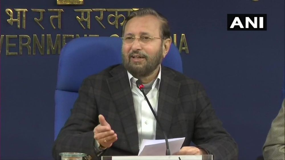 'Nobody Should Have Pessimistic View About Indian Economy': Prakash Javadekar