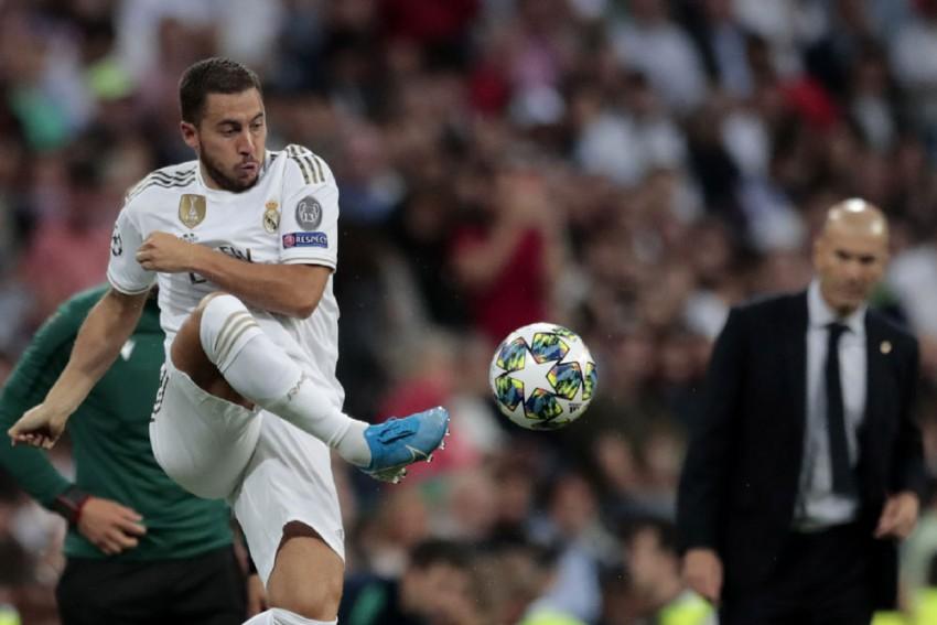 Eden Hazard, Sergio Ramos Return To Real Madrid Training After Injury Lay-Offs