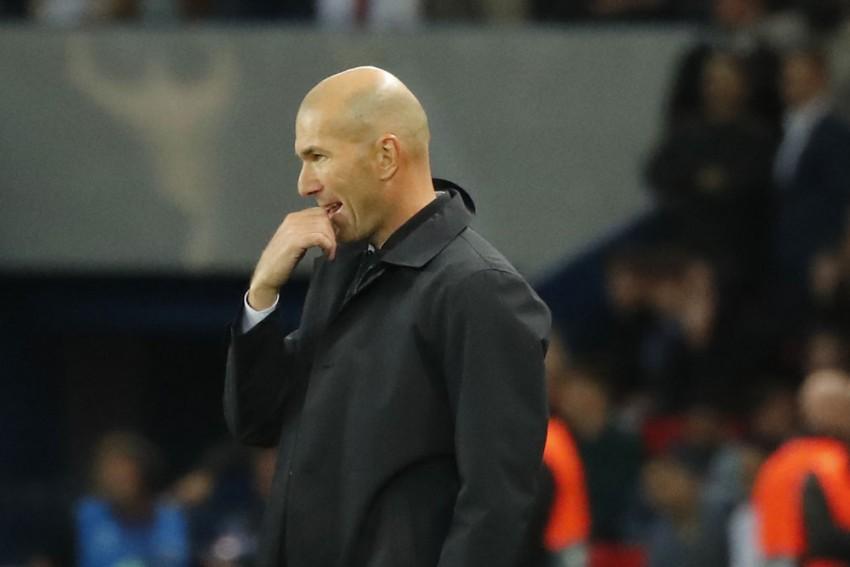 Zinedine Zidane The Man For France When Didier Deschamps Leaves, Says FFF President Noel Le Graet