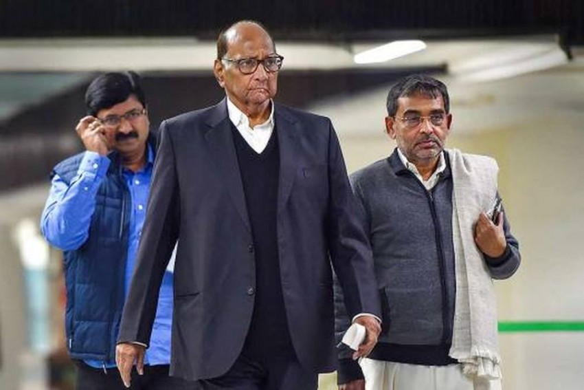 'Vendetta Politics': NCP Says Sharad Pawar's Security At Delhi Home Withdrawn By Centre
