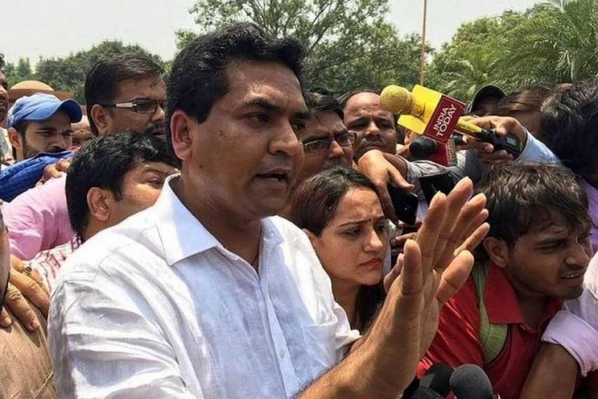EC Asks Twitter To Remove Kapil Mishra's 'India Vs Pak' Tweet Over Delhi Polls