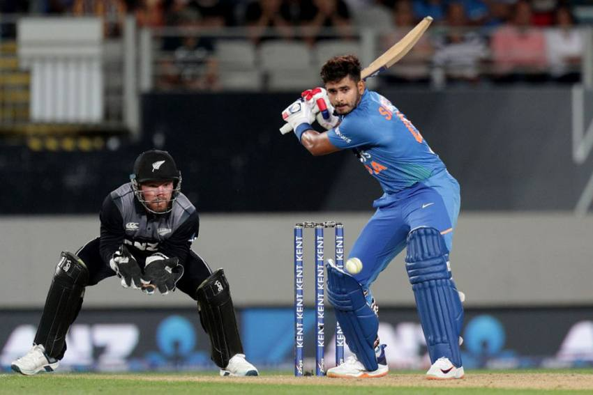 New Zealand Vs India, 1st T20I: Talented Shreyas Iyer Helps IND Crush NZ