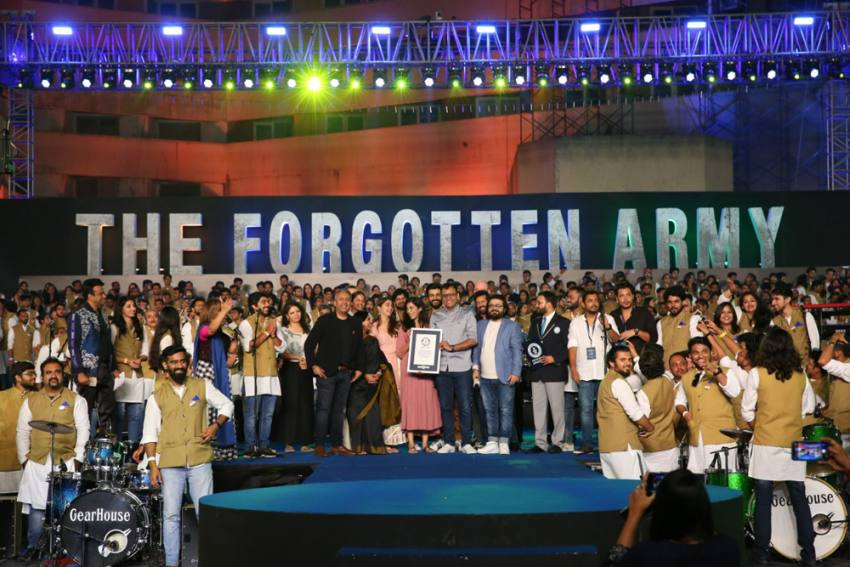 <em>The Forgotten Army</em> Concert With 1,046 Performers Sets A Guinness Record