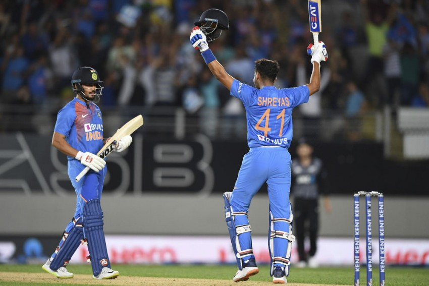 New Zealand Vs India, 1st T20I: The Size Of The Ground Helped In Chasing Target, Says Shreyas Iyer