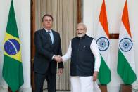 PM Modi Meets Brazilian President Bolsonaro, Signs 15 Pacts To Boost Ties