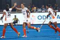 Rani Rampal Scores Twice As India Women's Hockey Team Begin New Zealand Tour With 4-0 Win