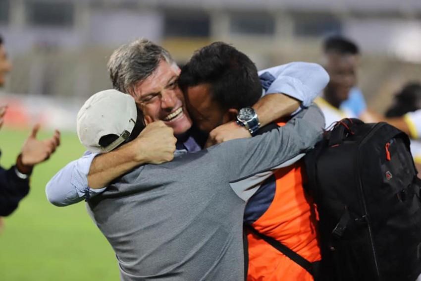I-League: TRAU FC Sack Coach Dimitris Dimitriou Before 'Thorough Investigation,' Fans Slam Management