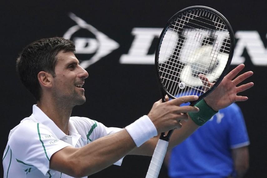 Australian Open 2020 Dominant Novak Djokovic Powers Through To Quarter Finals