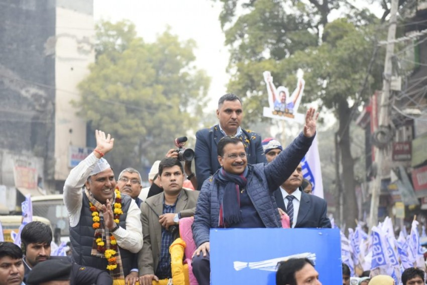 Delhi Polls: After Shah's Remark, Kejriwal Asks Voters 'To Press EVM Button Hard To Break 2015 Record'