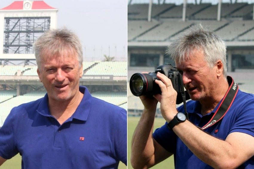 Ranji Trophy, Bengal Vs Delhi: 'Photographer' Steve Waugh Takes Everyone By Surprise At Iconic Eden Gardens