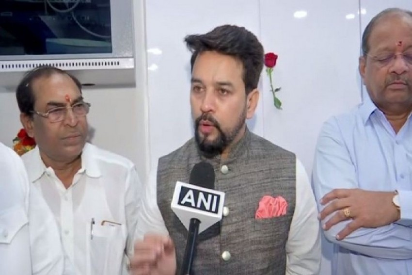 'See Mood Of People Of Delhi': Anurag Thakur Defends '<em>Goli Maaro...</em>' Slogan