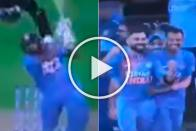 NZ Vs IND, 3rd T20I: Crazy Scenes As Rohit Sharma Hits Back-To-Back Sixes In Super Over To Give India 1st Series Win In New Zealand - Watch