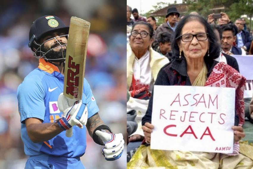 IND Vs SL: Will Guwahati T20I Between India And Sri Lanka Go Ahead Amid Relentless CAA Protests
