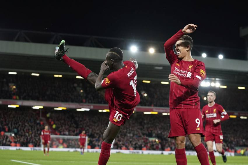 EPL | Liverpool 2-0 Sheffield United: Reds To Pass One Year Unbeaten As Sadio Mane, Mohamed Salah Star
