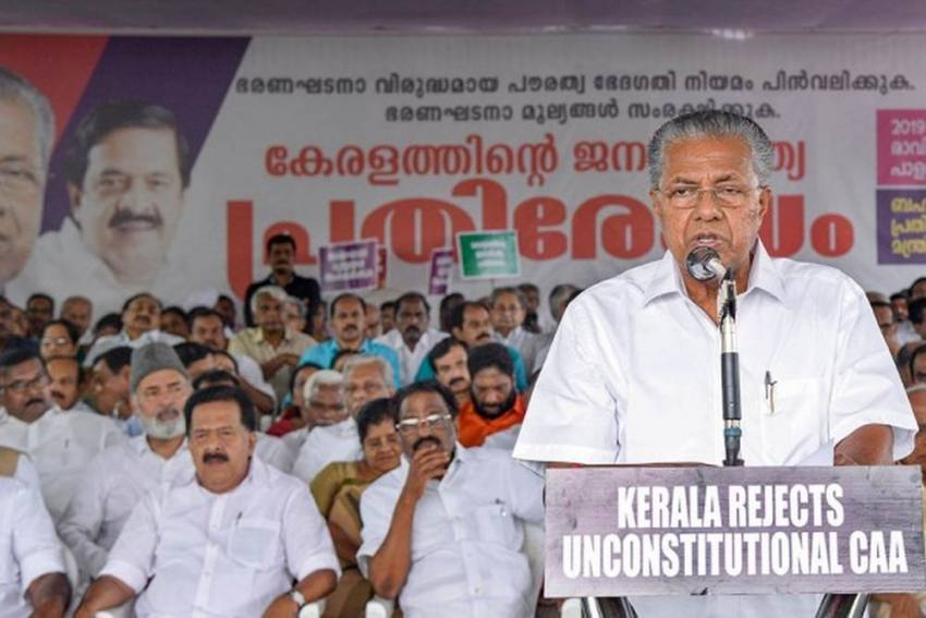'Protect Democracy, Secularism': Pinarayi Vijayan Writes To 11 Chief Ministers